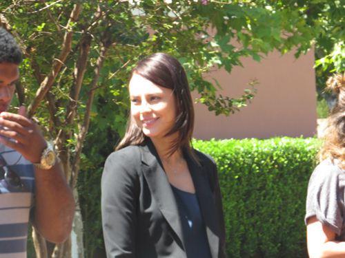 Paolla Oliveira começou a gravar o filme