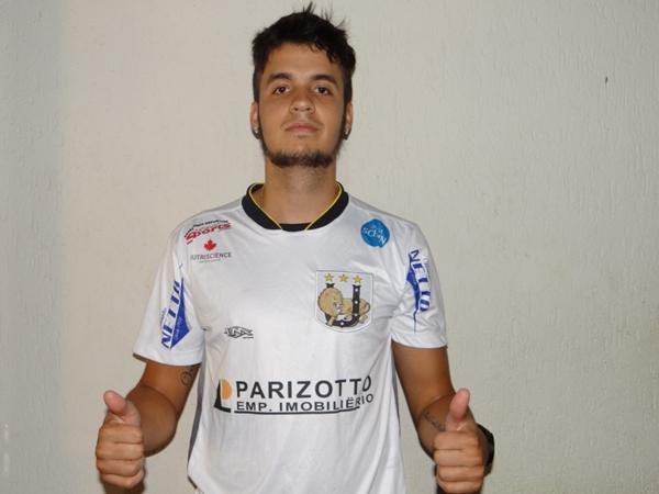 MARCO ANTONIO se apresenta e está a disposição do treinador Nei César / /Foto: Gazeta MS