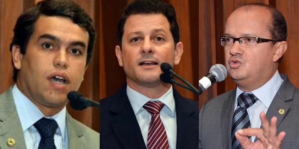 Deputados Beto Pereira, Renato Cãmara e Barbosinha