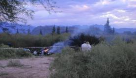 Foto publicada pelo jornal El Independiente mostra o local do acidente
