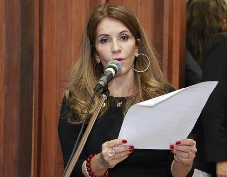 Deputada estadual, Antonieta Amorin (PMDB)