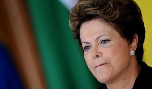 Dilma Rousse, abandonada e desacreditada.