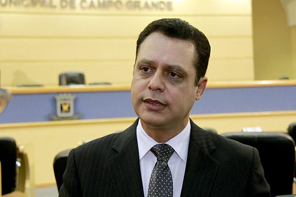 Flávio César, vereador e vice-presidente da Mesa Diretora da Câmara.