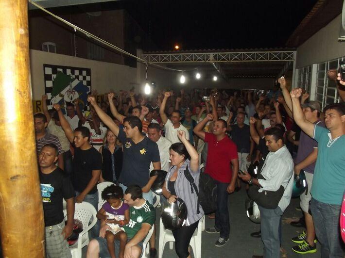 Assembléia realizada na ultima sexta feira. //Foto: Divulgação