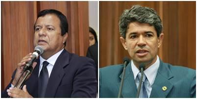 Amarildo Cruz (PT) e Rinaldo Modesto (PSDB)