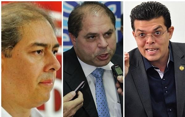 Bernal, Mario Cesar e Olarte, personagens centrais de uma decisão histórica.