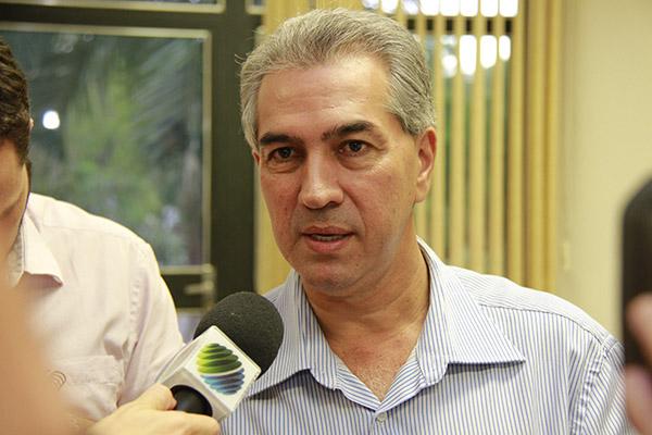 Governador Reinaldo Azambuja estuda reduzir ICMS sobre energia/Wanderson Lara
