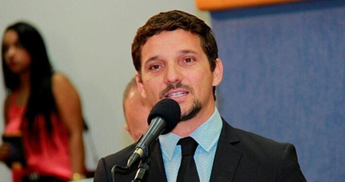 Vereador Eduardo Romero.