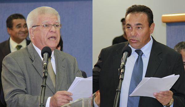 Vereadores Edil Albuquerque e Carlão