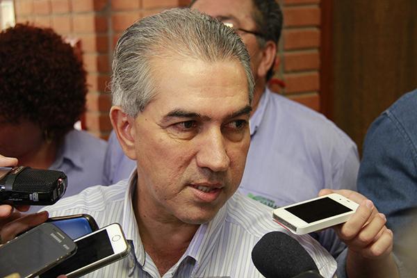 Governador Reinaldo Azambuja (PSDB) está equipando Hospital São Luis para atender de imediato a população da região de Dourados/ Foto: Wanderson Lara