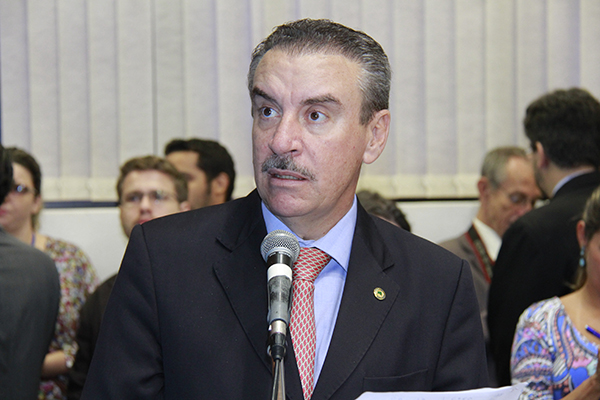 Deputado Paulo Corrêa (PR) mais uma vez a frente de uma CPI que pode acabar em pizza/Foto:Wanderson Lara