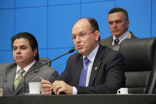 Presidente regional do PMDB, Junior Mochi
