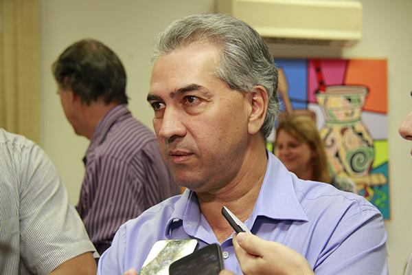 Governador Reinaldo Azambuja/Foto:Wanderson Lara