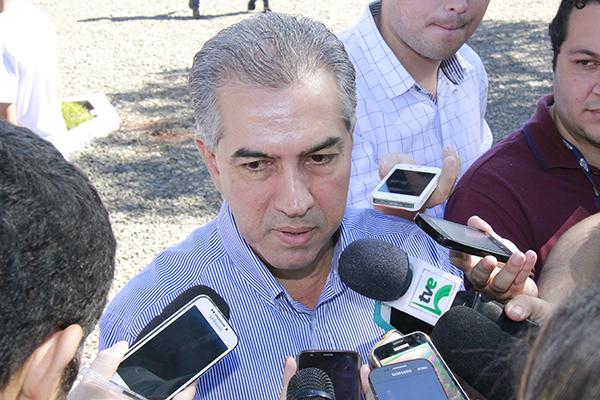 Governador do Estado, Reinaldo Azambuja (PSDB)