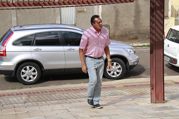 Vereador Carlão prestou depoimento ontem/Foto:Wanderson Lara