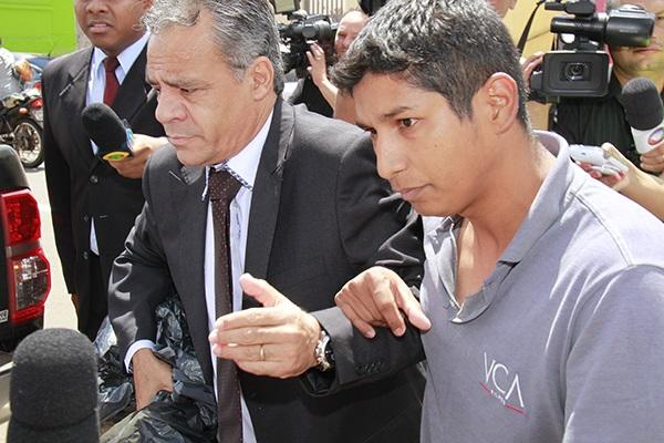 Francimar Câmara Cardoso, de 30 anos, confessou ter assinado o professor de informática Bruno Soares