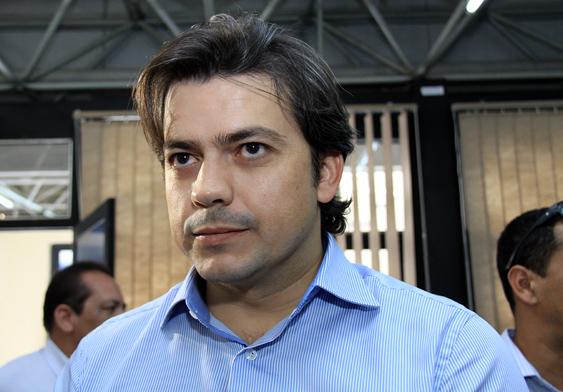 Prefeito de Coxim Luizio São José/Foto:reprodução