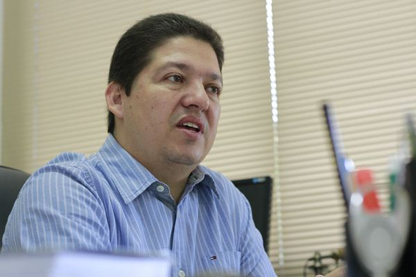 Clóvis Silva, presidente do Sindifisco/Foto:Wanderson Lara