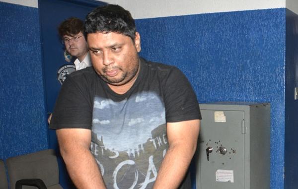 Fabiano foi preso ontem e promete reveler lista de envolvidos em esquema/Foto: divulgação PC