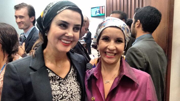 Deputada Mara Caseiro e Antonieta Amorim
