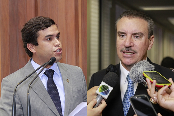 Beto Pereira, relator da CPI e Paulo Corrêa, presidente/Foto:Wanderson Lara