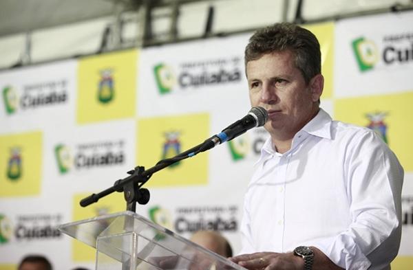 Prefeito de Cuiabá, Mauro Mendes, é um dos investigados/Foto: Emanuelle Rigoni