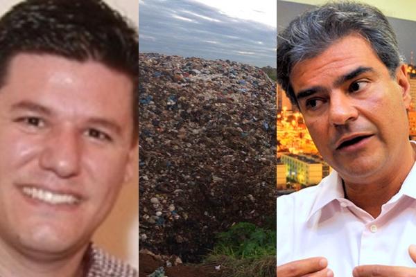 Na foto, Luciano Dolza, dono da Solurb, e ex-prefeito Nelsinho Trad