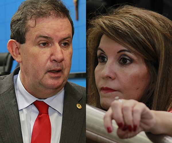 Deputados Eduardo Rocha e Antonieta Amorim/Foto: arquivo