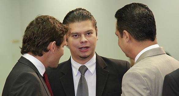 Eduardo Romero, Otávio Trad, Flávio César.
