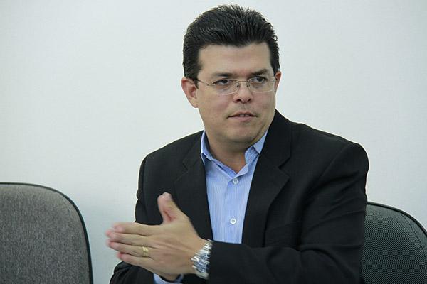 Prefeito Gilmar Olarte/Foto:Wanderson Lara