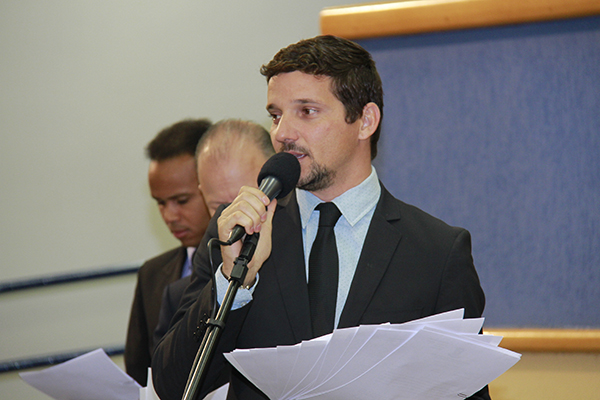 Vereador Eduardo Romero se declarou ontem independente/Foto:Wanderson Lara