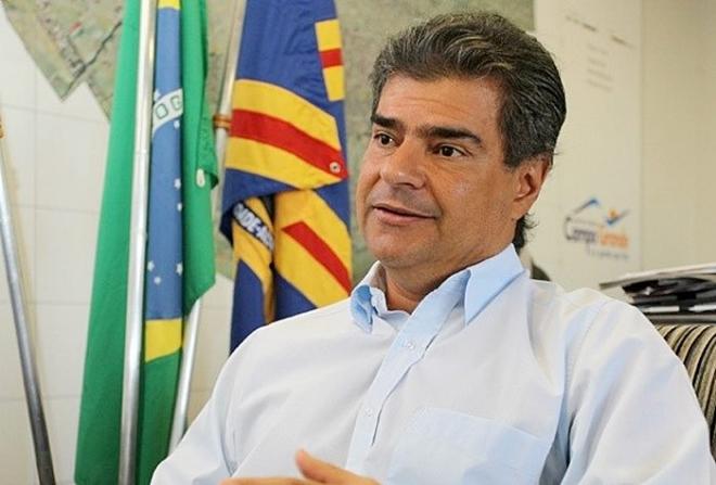 Ex-prefeito de Campo Grande, Nelsinho Trad (PMDB)/Foto:reprodução