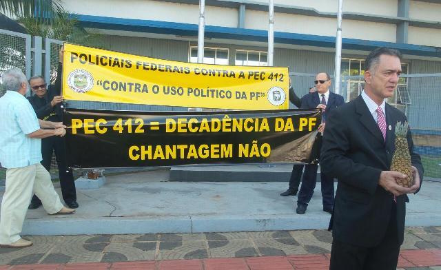 Presidente do Sindicato teme abuso de poder dos delegados/Foto: Adrielle Santana