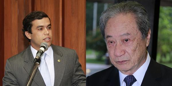 Deputados do PDT, Beto Pereira e George Takimoto