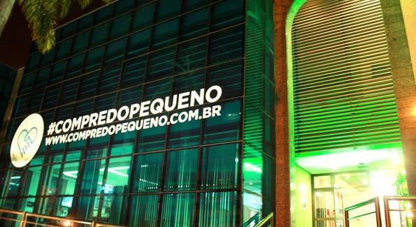 Fachada do Sebrae/MS (Foto Divulgação)