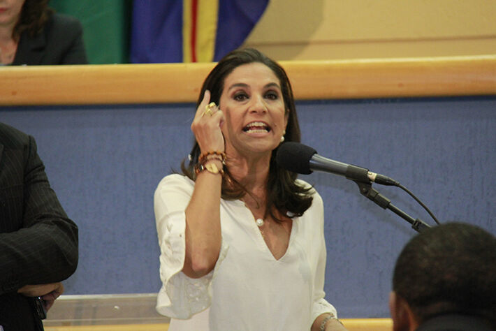 Vereadora Carla Stephanini (PMDB)/Foto: Wanderson Lara