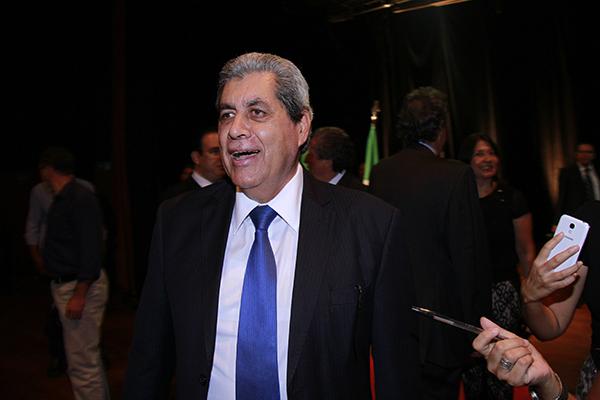 """Ex-governador é tido como """"salvação"""" do partido/Foto: Wanderson Lara"""
