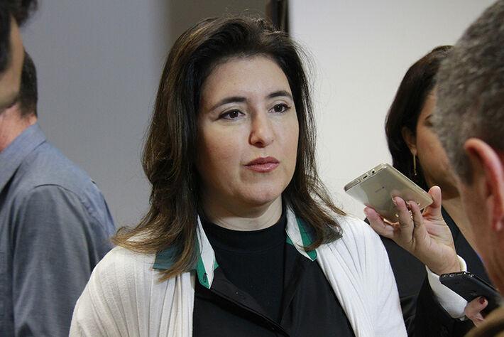 Senadora Simone Tebet (PMDB) pode ser nome forte do partido para eleições em 2016 / Divulgação