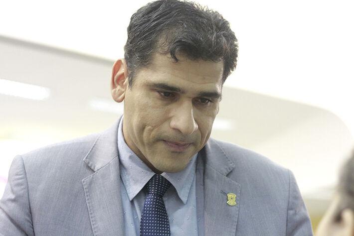 Vereador Betinho (PRB) mostra preocupação com clima tenso na Câmara / Wanderson Lara