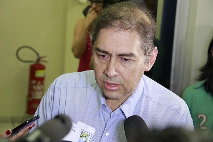 Prefeito Alcides Bernal(Foto: Wanderson Lara)