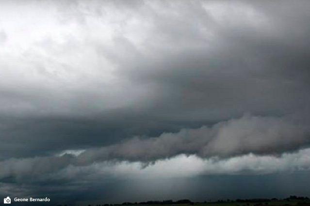 Tempo fechado no estado de MS/Foto: Site Clima Tempo - George Bernardo