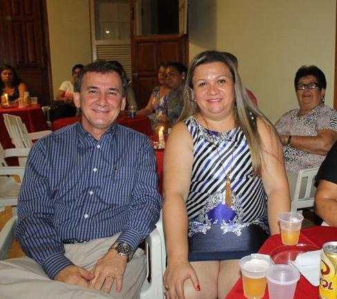 Prefeito Afastado de Bela Vista Renato de Souza Rosa e sua esposa Patrícia Loureiro Ocáriz de Souza Rosa/Foto site Prefeitura de Bela Vista