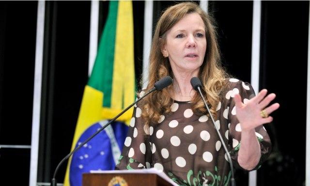 Vanessa Grazziotin é autora do projeto que eleva o piso dos professores. Foto: Waldemir Barreto/Agência Senado