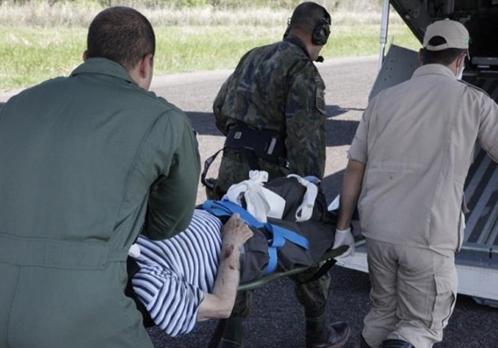 Idoso de 80 anos morre antes de chegar na capital (Foto: PC de Souza/Edição de Notícias)