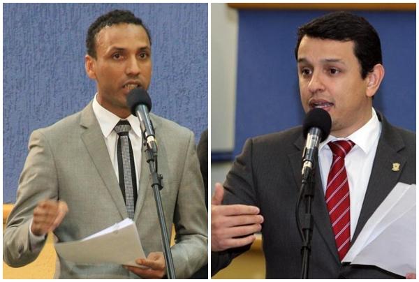 Vereador Coringa (PSD) e Deputado Federal Elizeu Dionízio (PSDB)