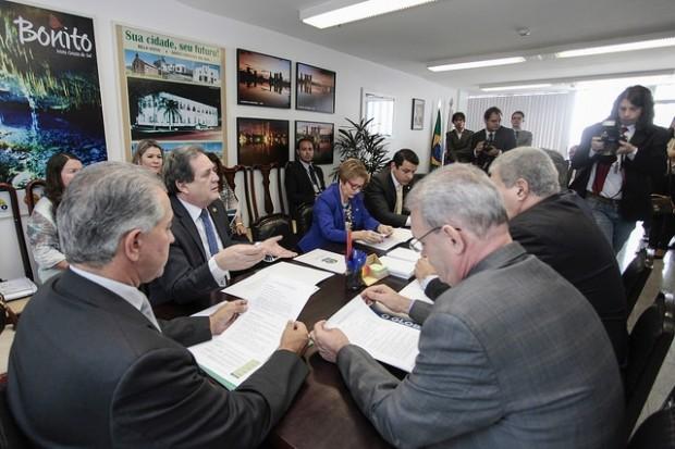 Bancada federal de Mato Grosso do Sul apresentou emendas ao Orçamento da União de 2016 (Foto: assessoria)
