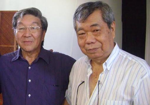 Mori ao lado do presidente executivo da Associação Nipo Brasileira, Acelino Sinjó Nakasato/ Foto: Divulgação