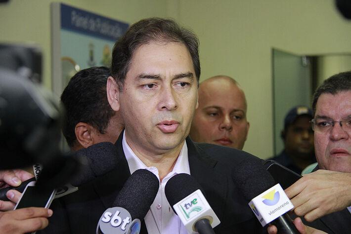 Prefeito Alcides Bernal/Foto: Wanderson Lara