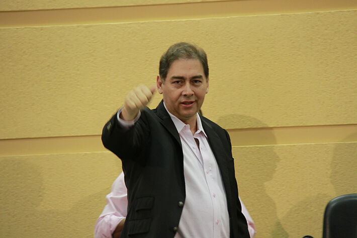 Prefeito Alcides Bernal (PP)/Foto: Wanderson Lara