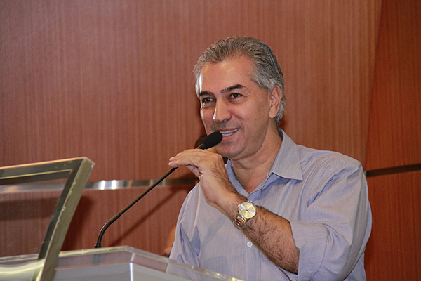 Governador Reinaldo Azambuja/Foto: Wanderson Lara